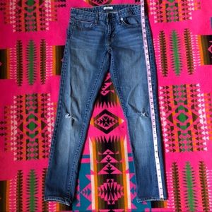 Vintage Levi's Selvedge Edge BF Skinny Jeans